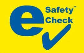 e Safety Check Logo
